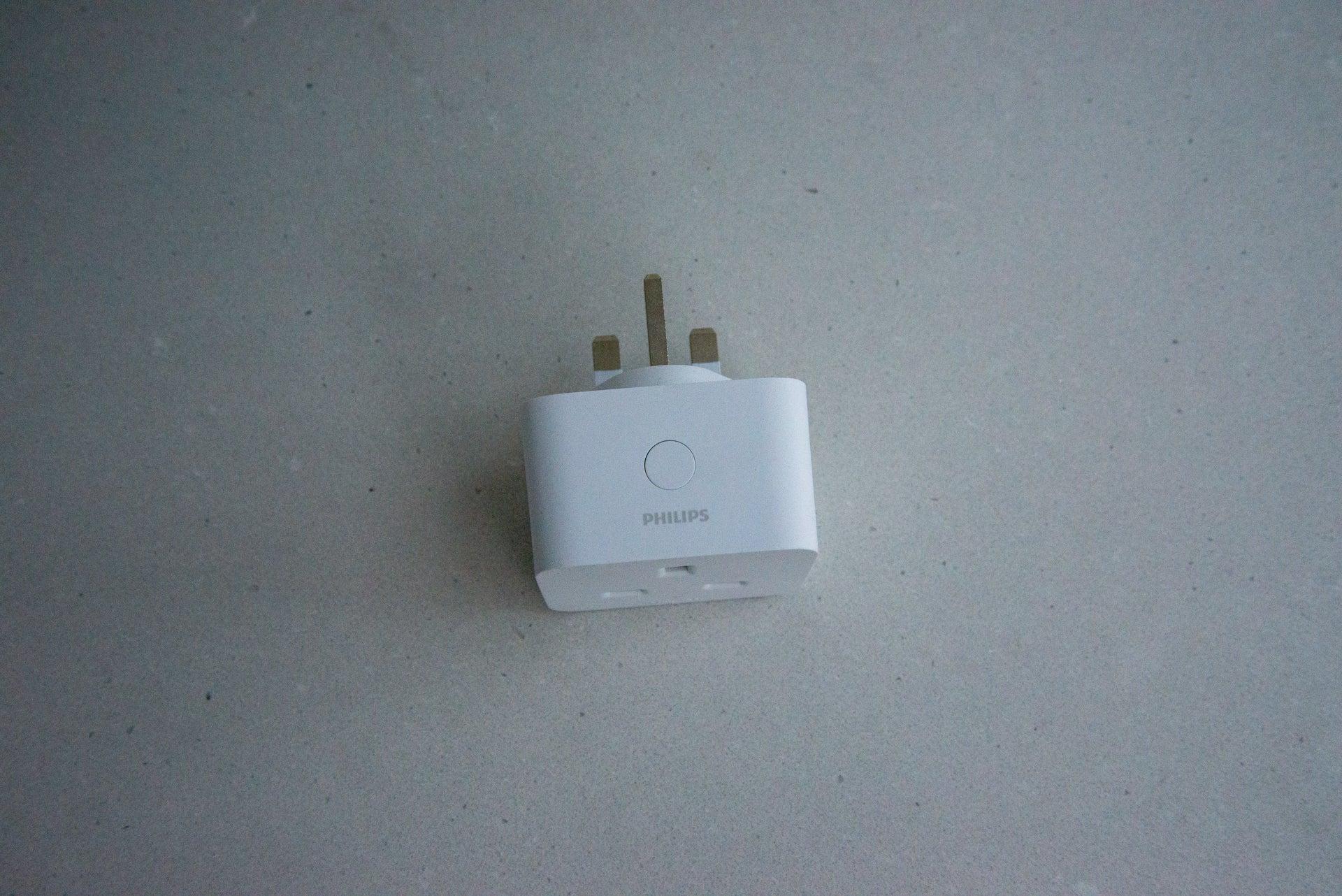 Philips Hue Smart Plug power button