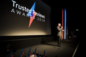 Tom Allen at Trusted Reviews Awards