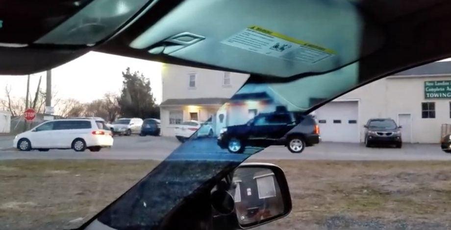 car blind spot project