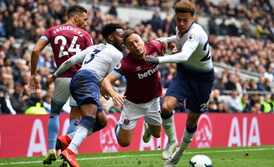 Where to watch West Ham vs Tottenham today - on TV and online