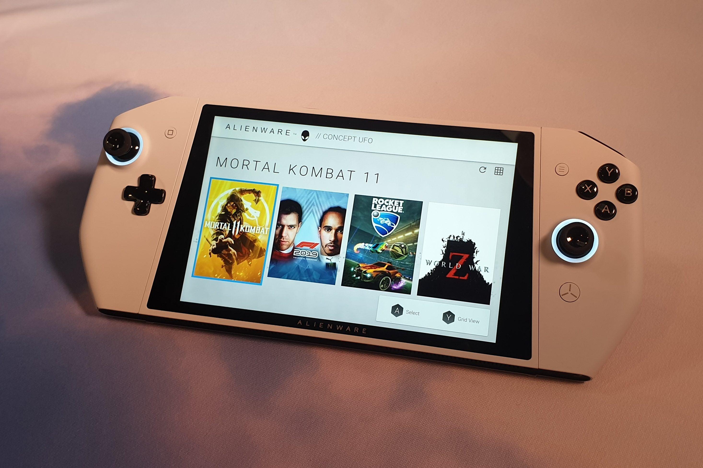 Konsep Game Konsol Portable dari Alienware