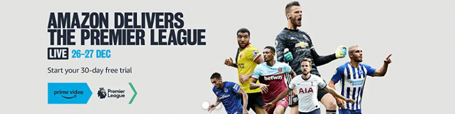 Amazon Boxing Day Football - Premier League