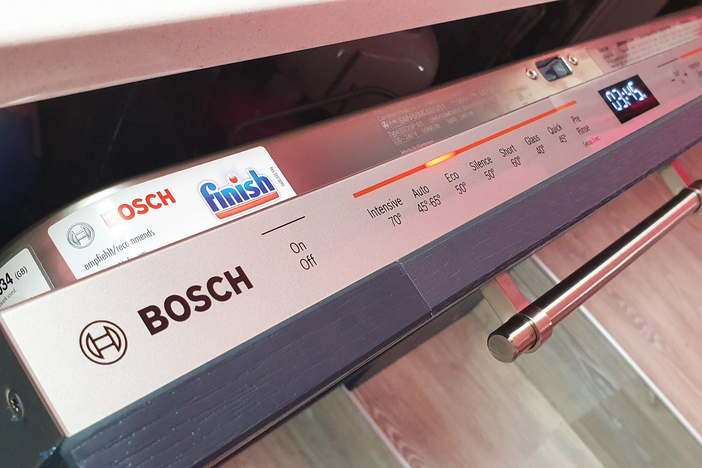 Bosch PerfectDry SMV68MD00G controls