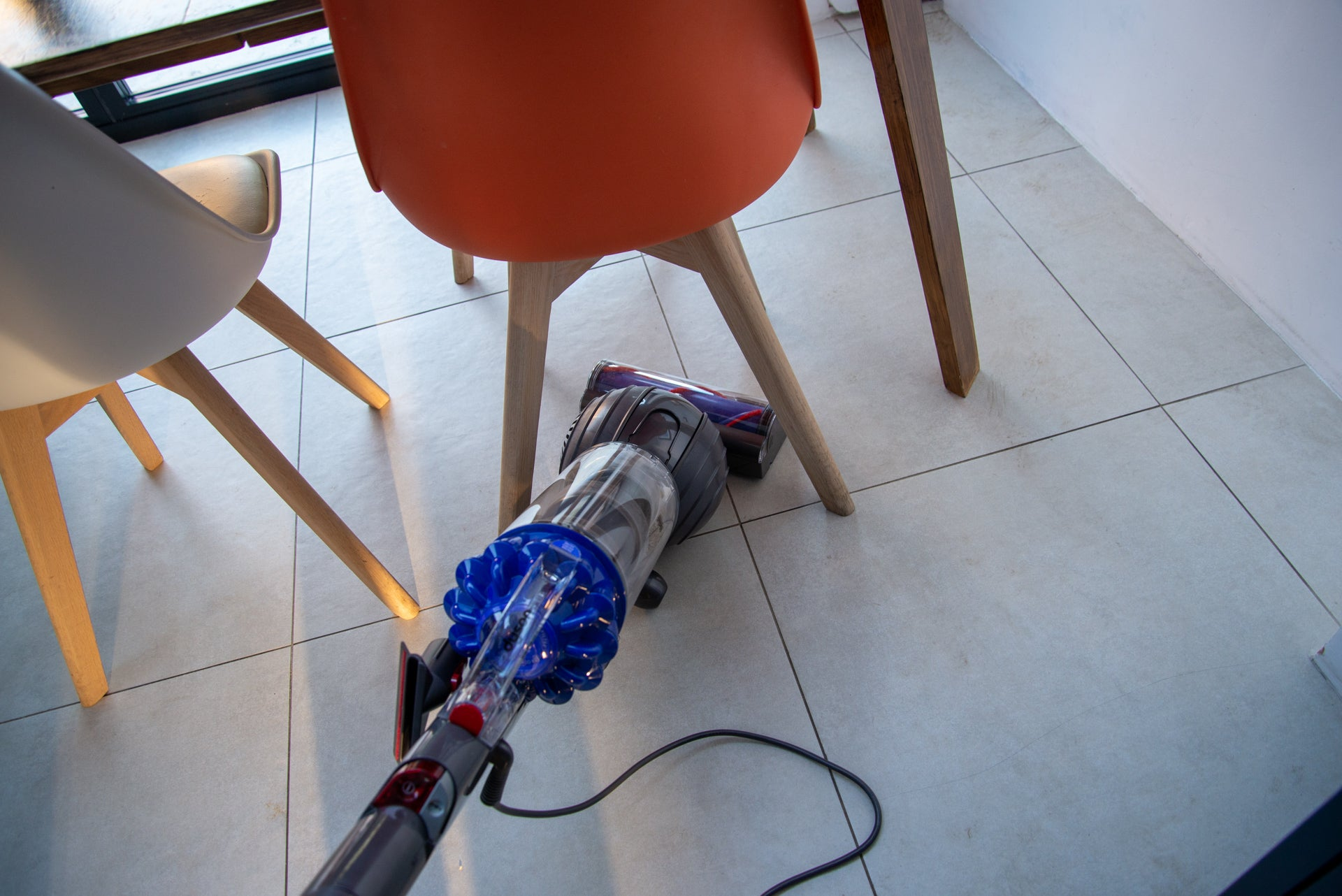 Dyson Small Ball Allergy under furniture