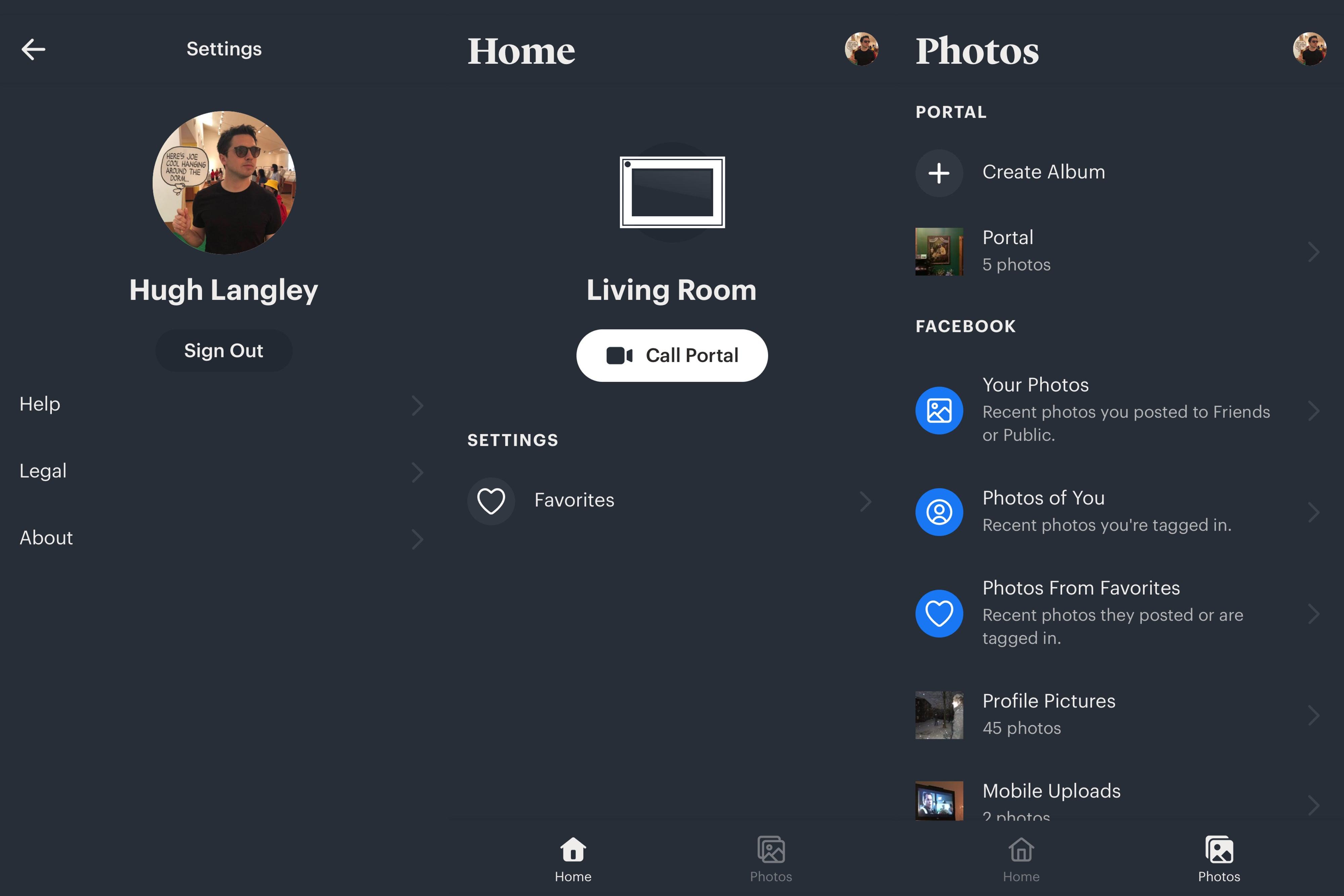 Facebook Portal App