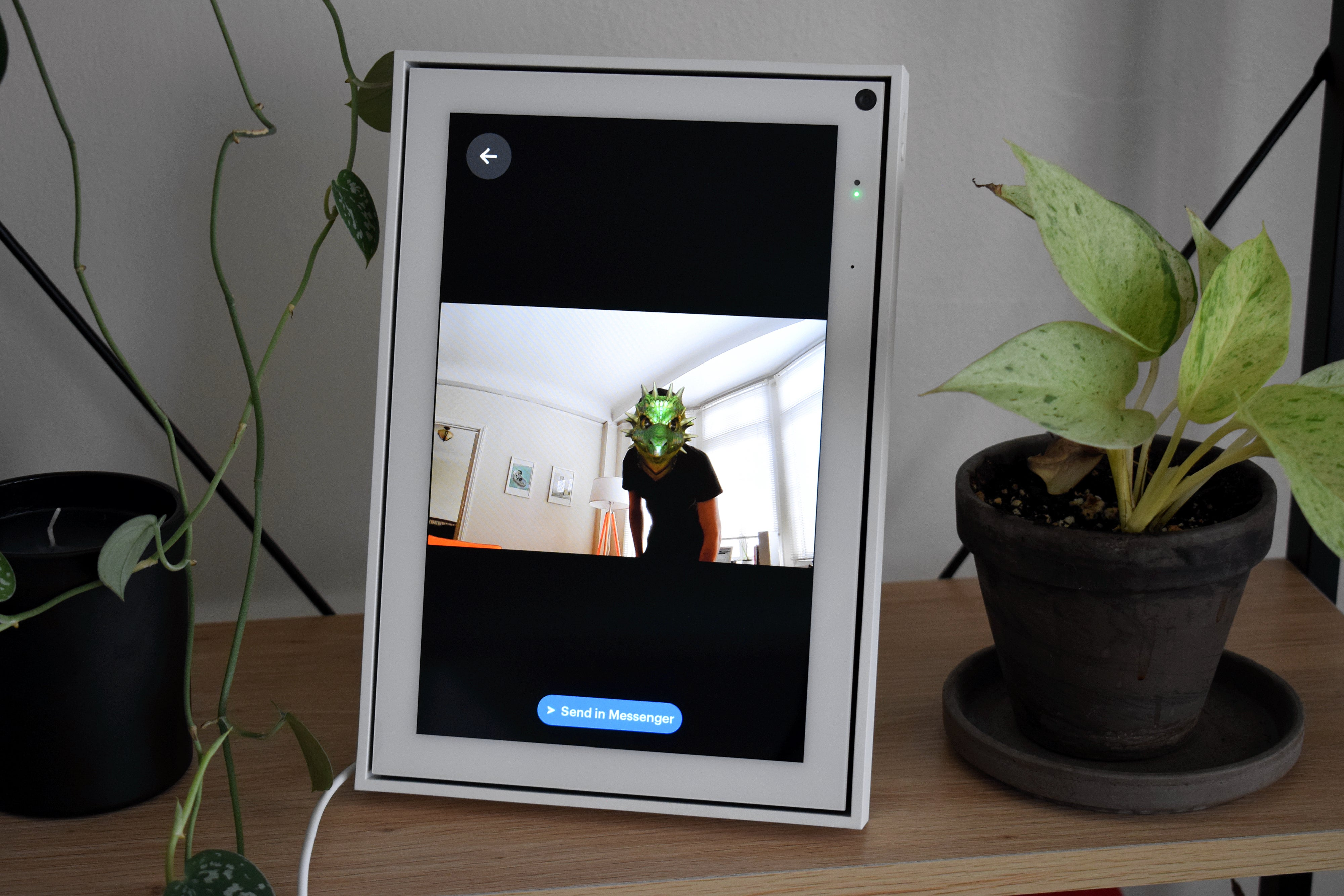 Facebook Portal video chat