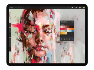 Color Palette on Procreate 5