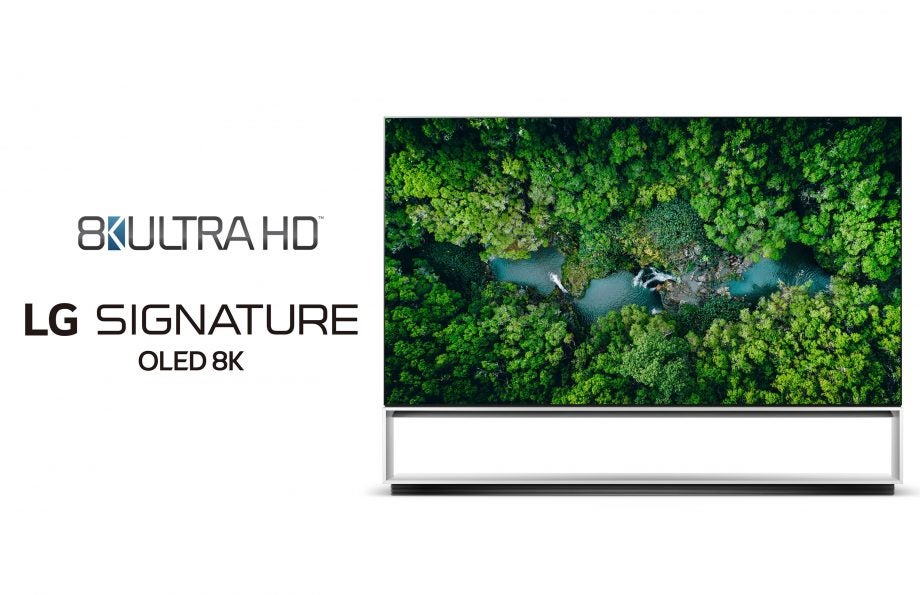 Picture of LG 8k TV