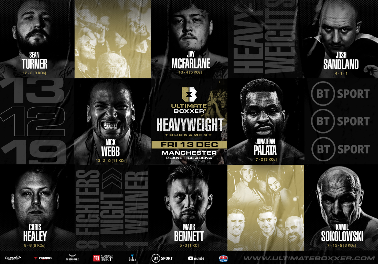 How to watch the Ultimate Boxxer heavyweight tournament on TV or online