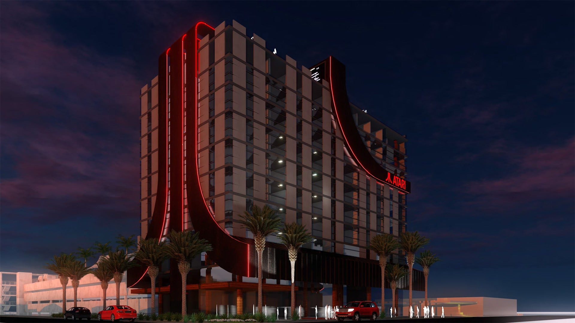 Atari Hotel chain sounds like a serious gamer's dream vacation digs