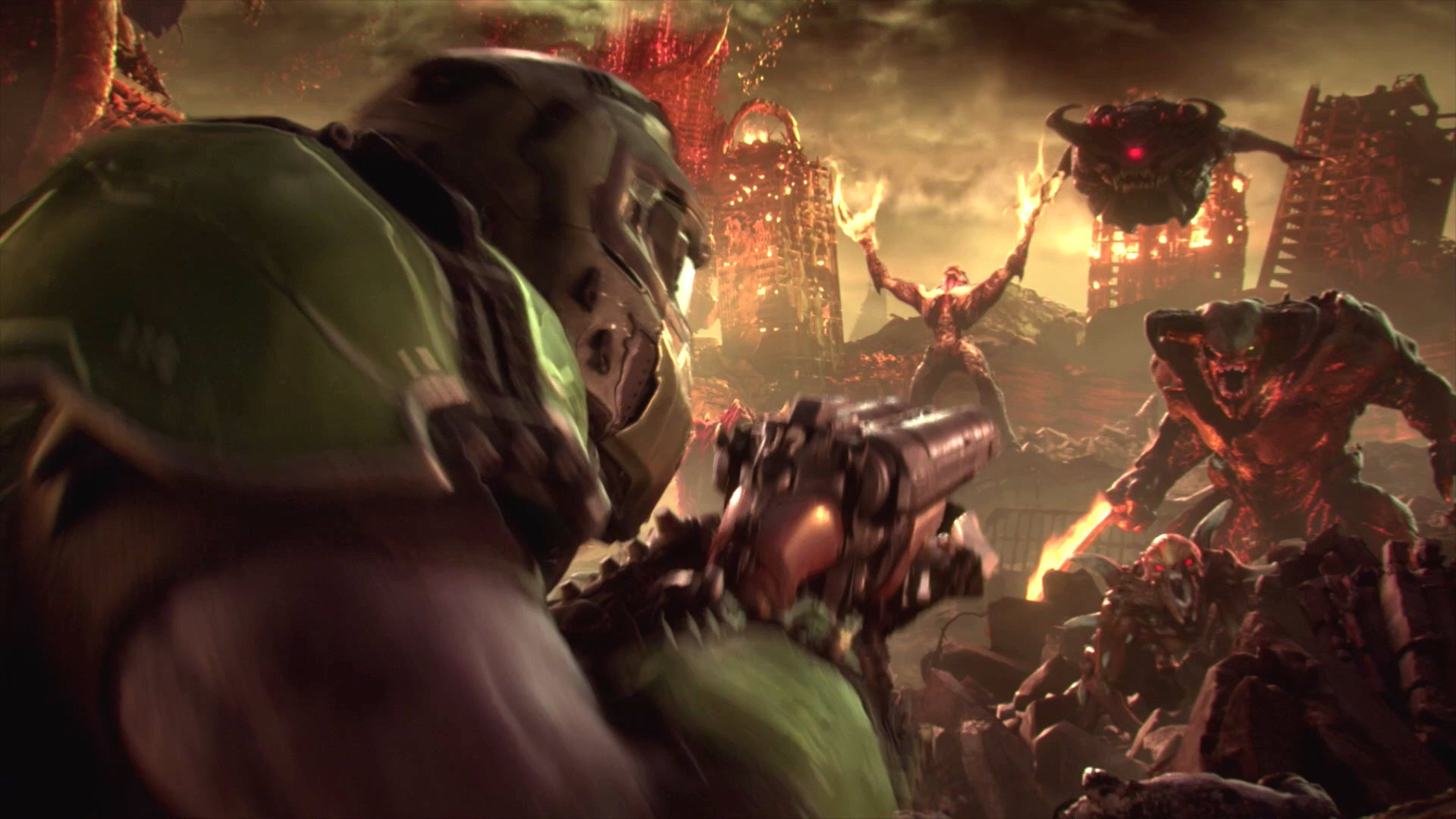 DOOM Eternal's Brand New Trailer The Only Thing they Fear – is You