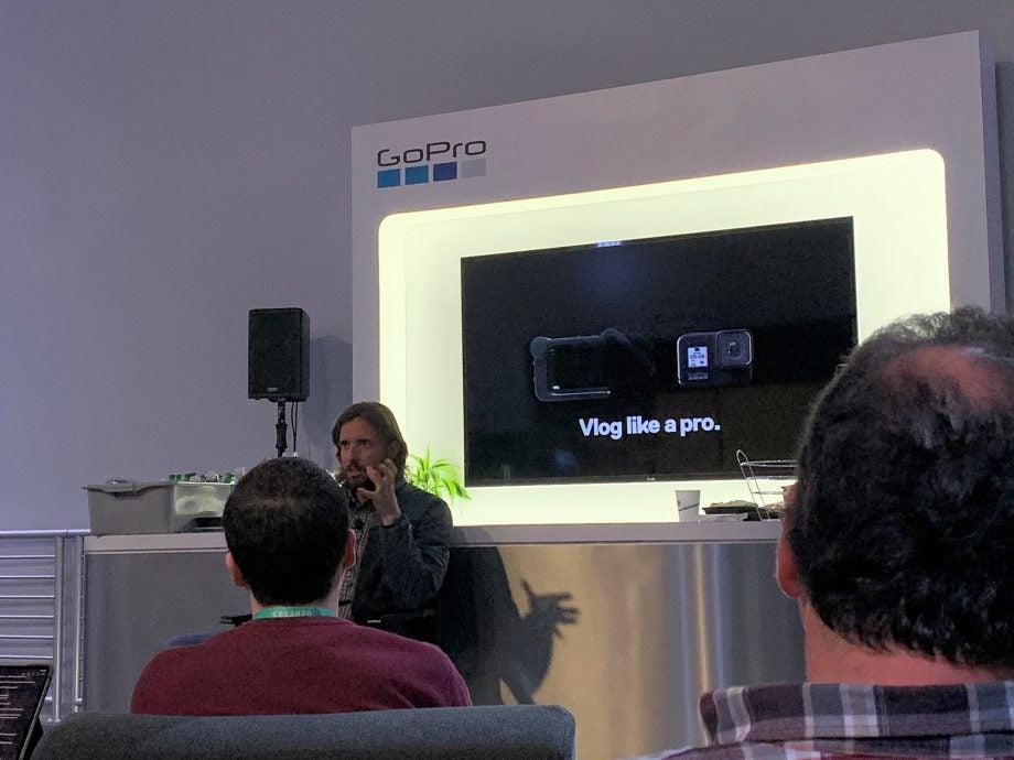 GoPro CEO Nick Woodman at CES 2020