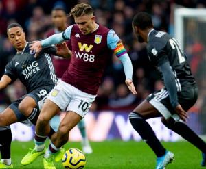 Villa vs Leicester - Image credit: Jack Grealish on Twitter/@JackGrealish1