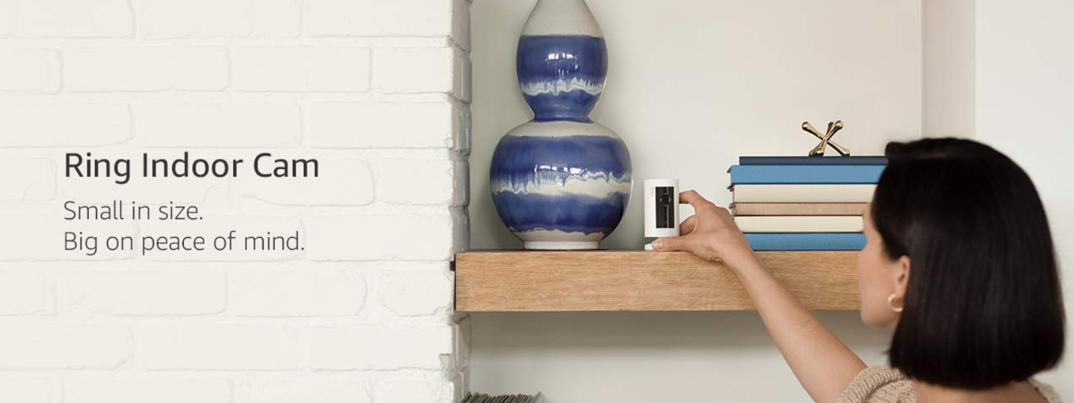 Ring's first indoor cam is now available in the UK at a great price