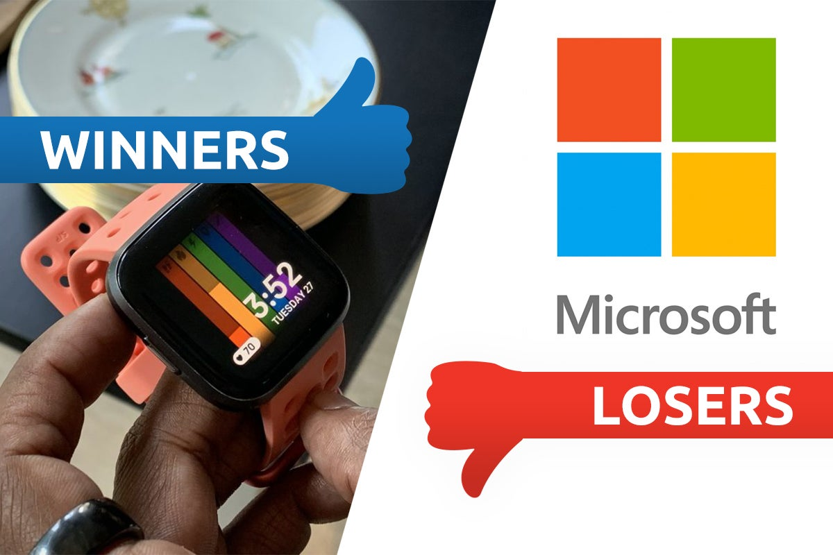 Winners and losers: Fitbit levels up as Windows users get 0wn3d
