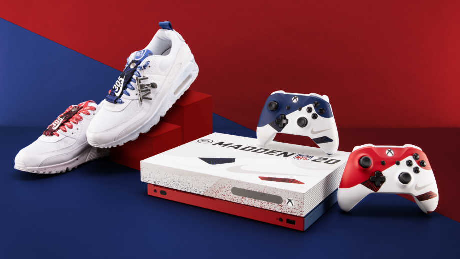 Want an Xbox One X styled after Nike Air trainers? Microsoft