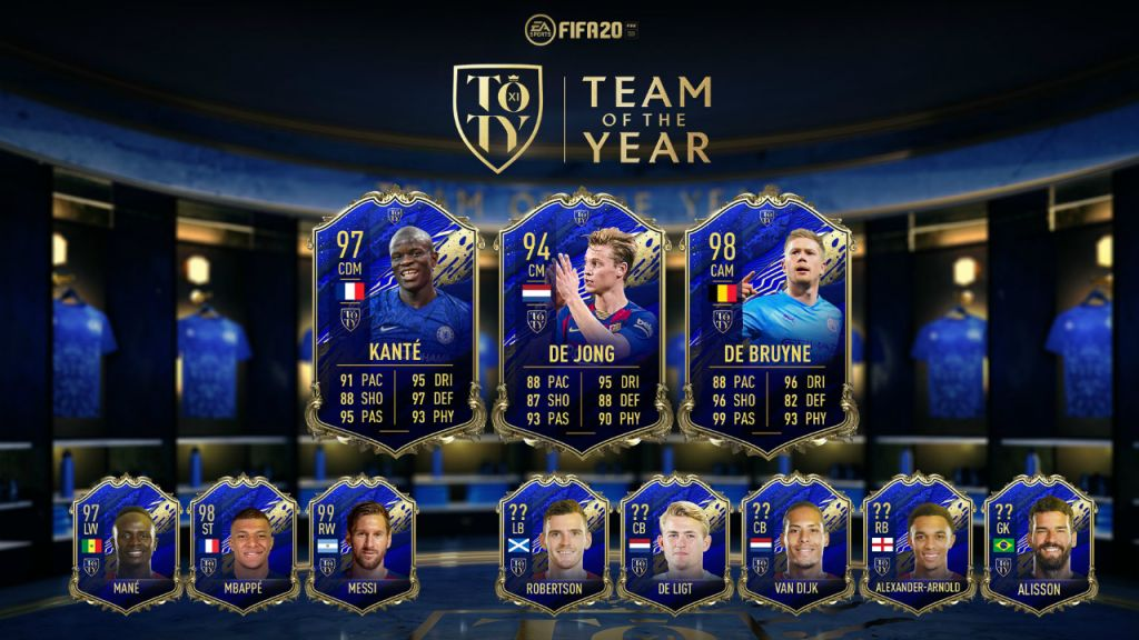 Fifa Team Of The Year 2020