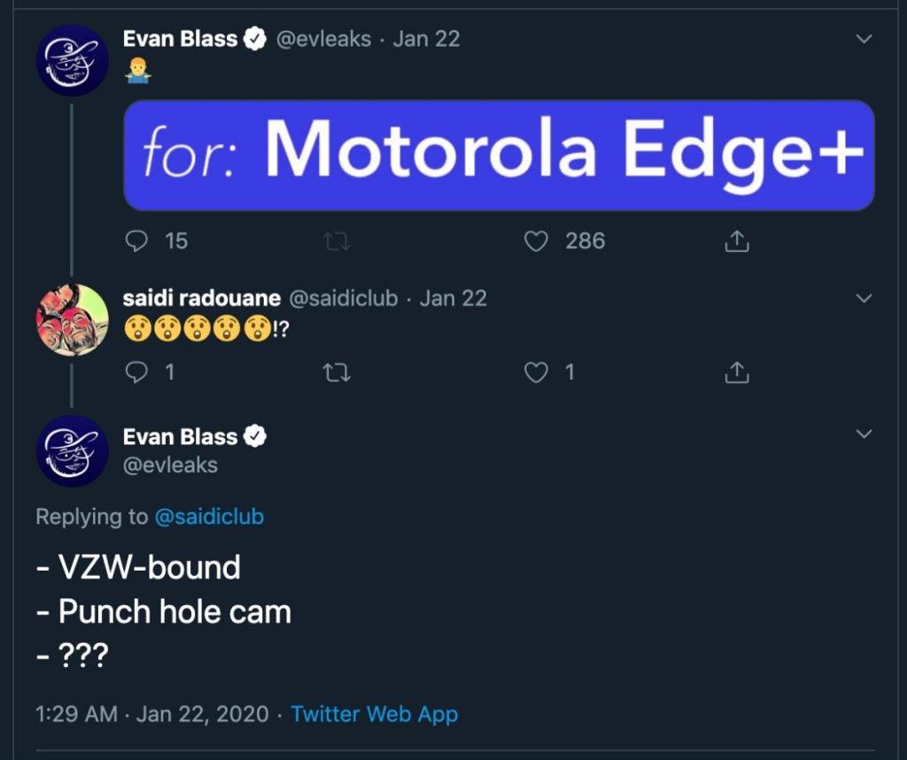motorola edge plus leak