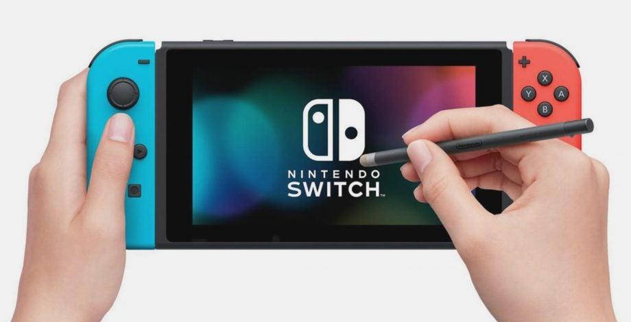 Nintendo Switch stylus
