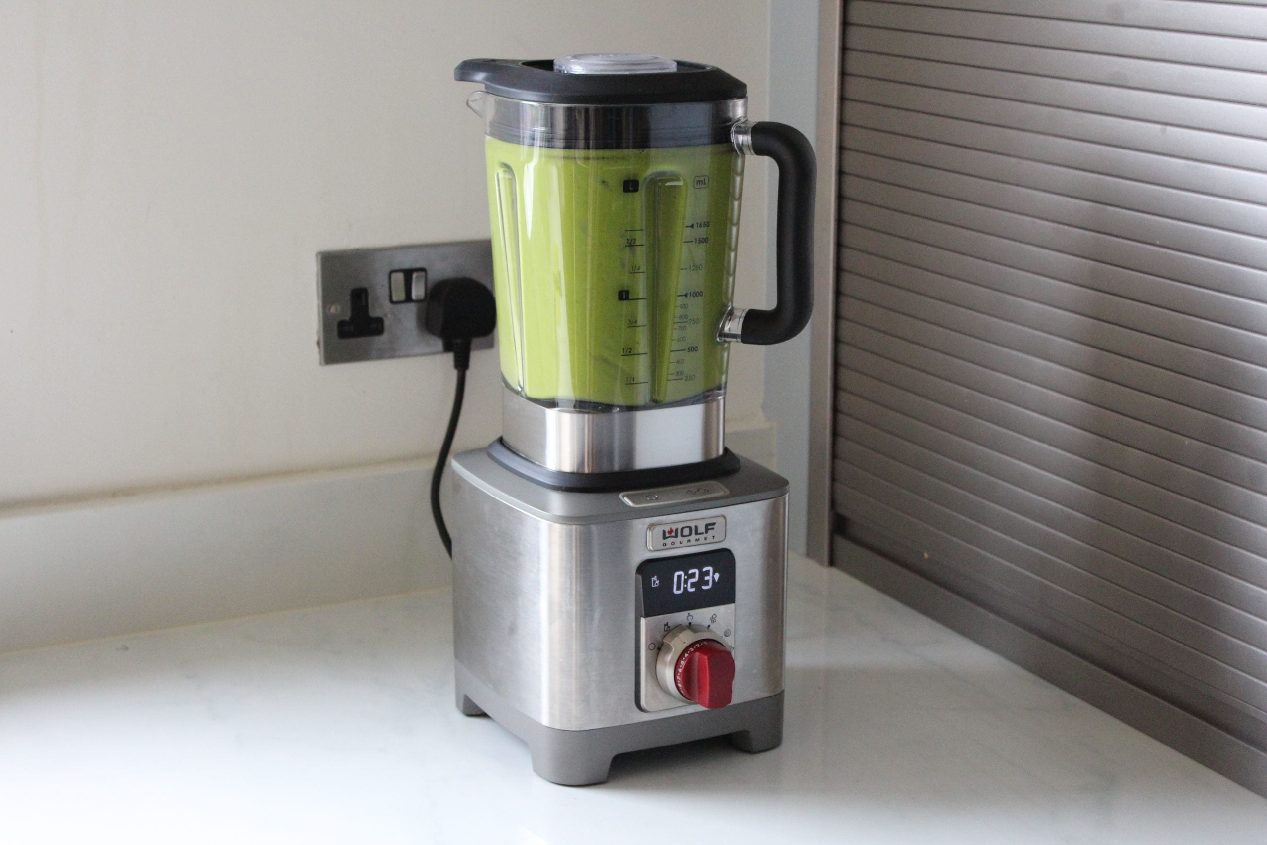 Wolf Gourmet High Performance Blender Finished Smoothie