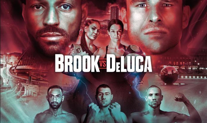 Brook vs DeLuca - Image Credit: Matchroom Boxing