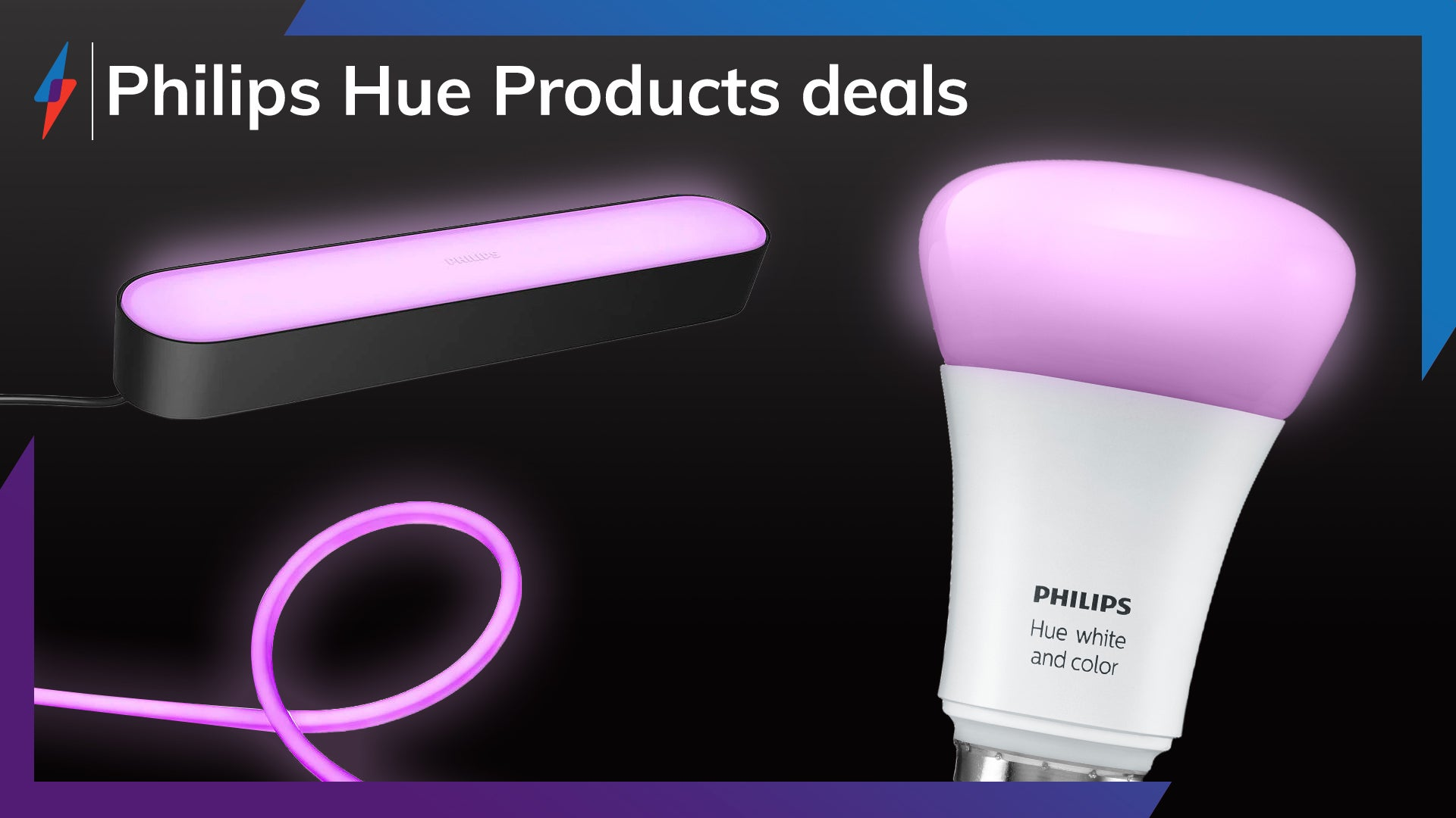 Glow up your smart lighting with this Philips Hue bundle promotion