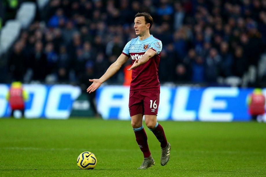 West Ham vs Watford how to watch guide - image of Mark Noble via Getty Images