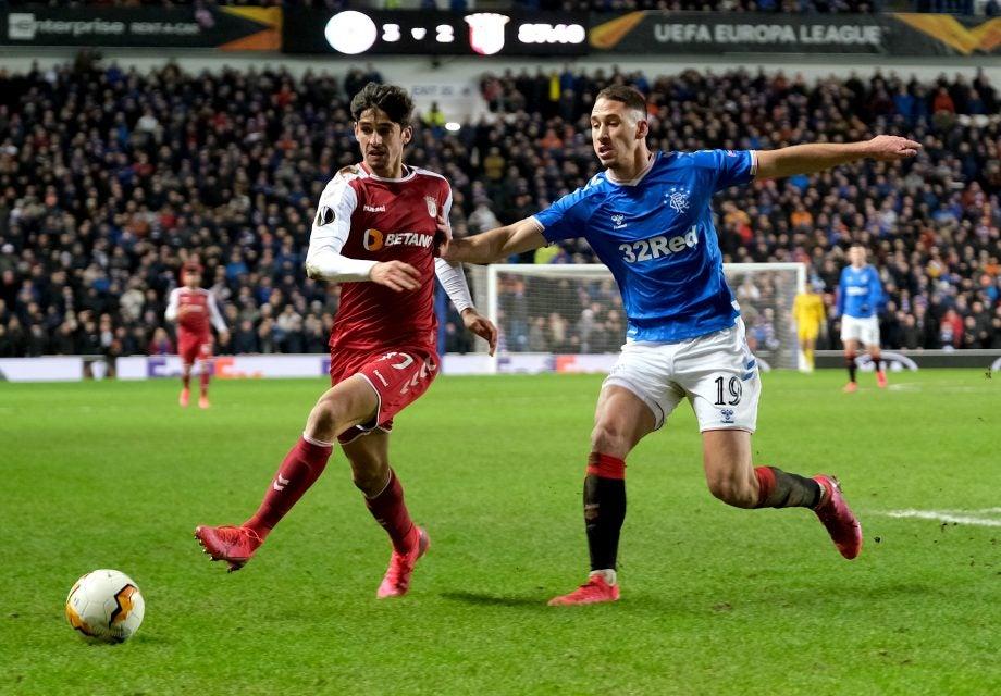 Braga vs Rangers how to watch guide - image via Getty