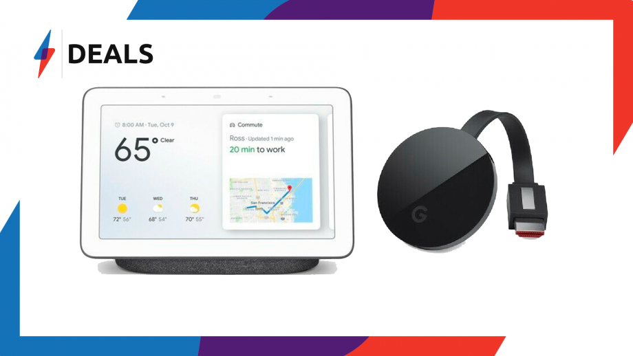 Google Home Hub Chromecast Bundle
