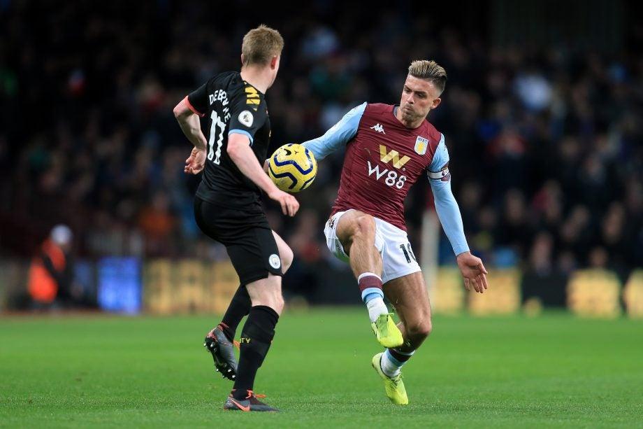 Man City vs Aston Villa how to watch guide - image via Getty