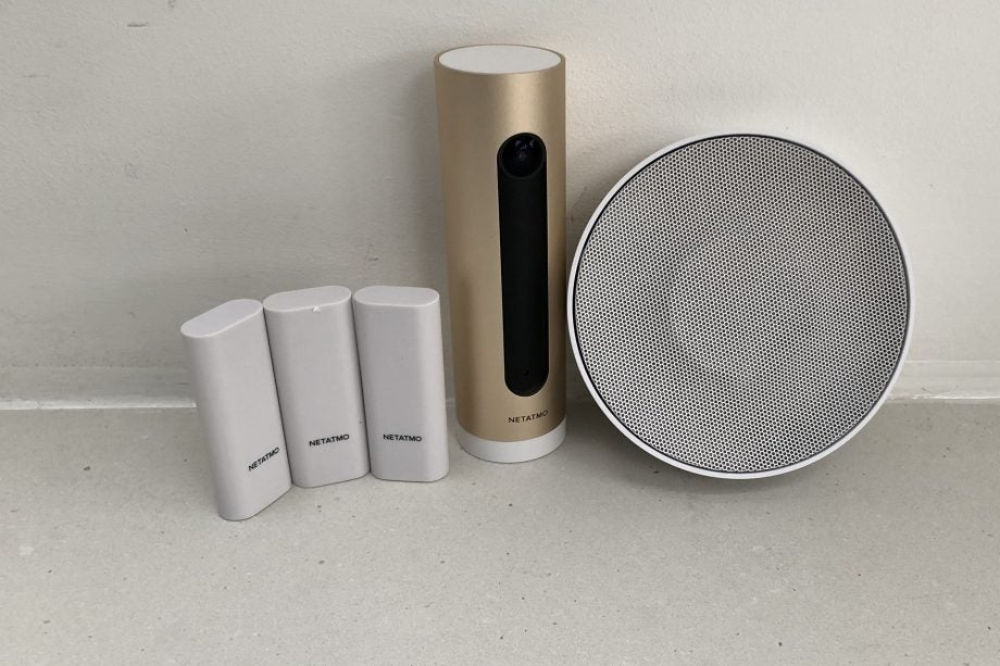 Netatmo Smart Alarm System With Camera Hero