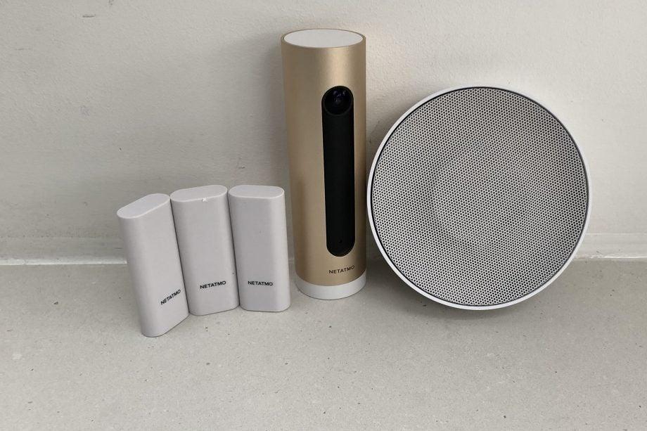 Netatmo Smart Alarm System With Camera Hero