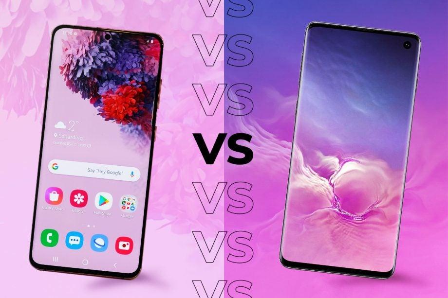 Samsung Galaxy S20 vs S10