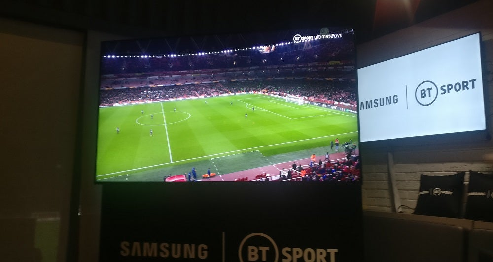 BT Sport and Samsung deliver first live 8K broadcast in the UK | Trusted Reviews