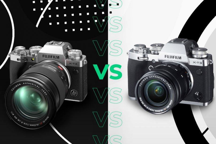 Fujifilm X-T4 vs Fujifilm X-T3