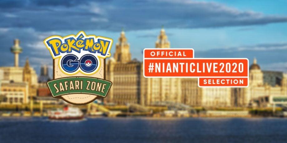 Pokemon GO Safari Zone Liverpool 2020 - via Niantic