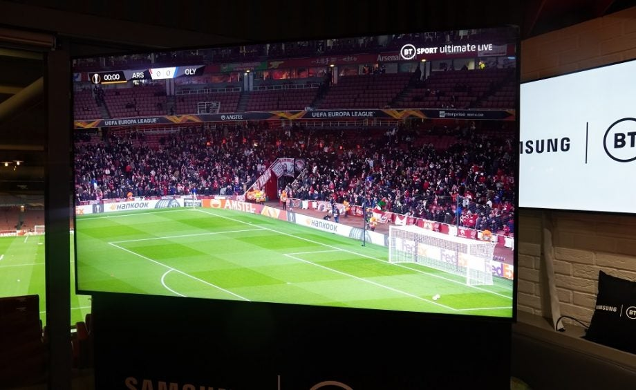 BT Sport Samsung 8K broadcast