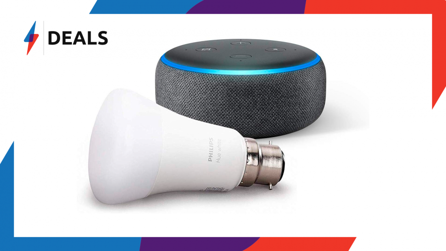 Echo Dot and Philips Hue B22 Deal