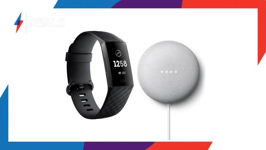 Fitbit Charge 3 Google Nest Mini Bundle