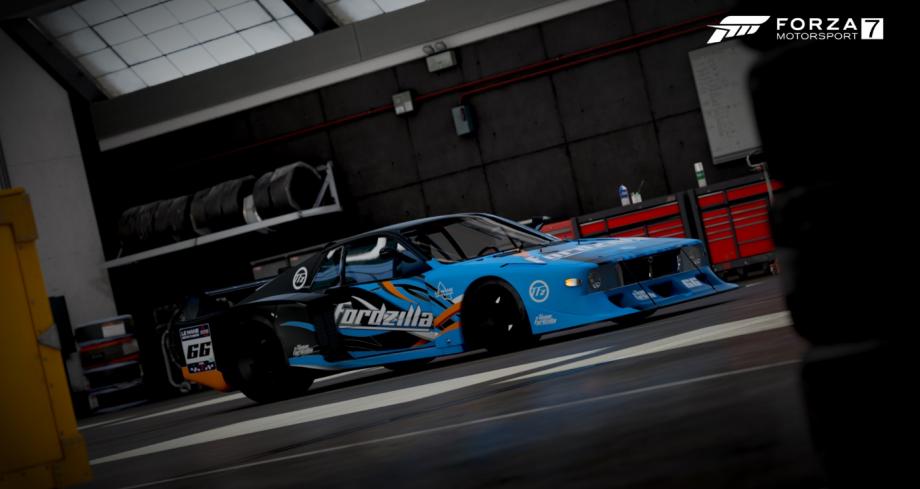 Fordzilla car from Forza Motorsport 7 via Fordzilla on Twitter