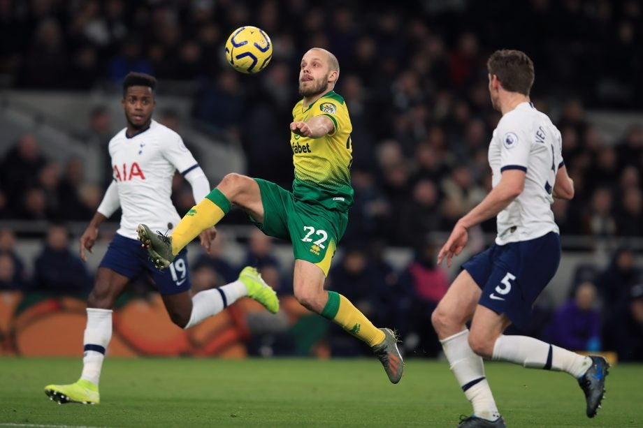 Tottenham vs Norwich how to watch guide - image via Getty