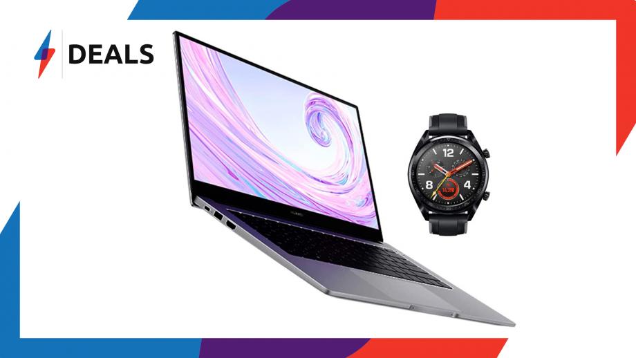Huawei MateBook D and Huawei Watch GT Deal
