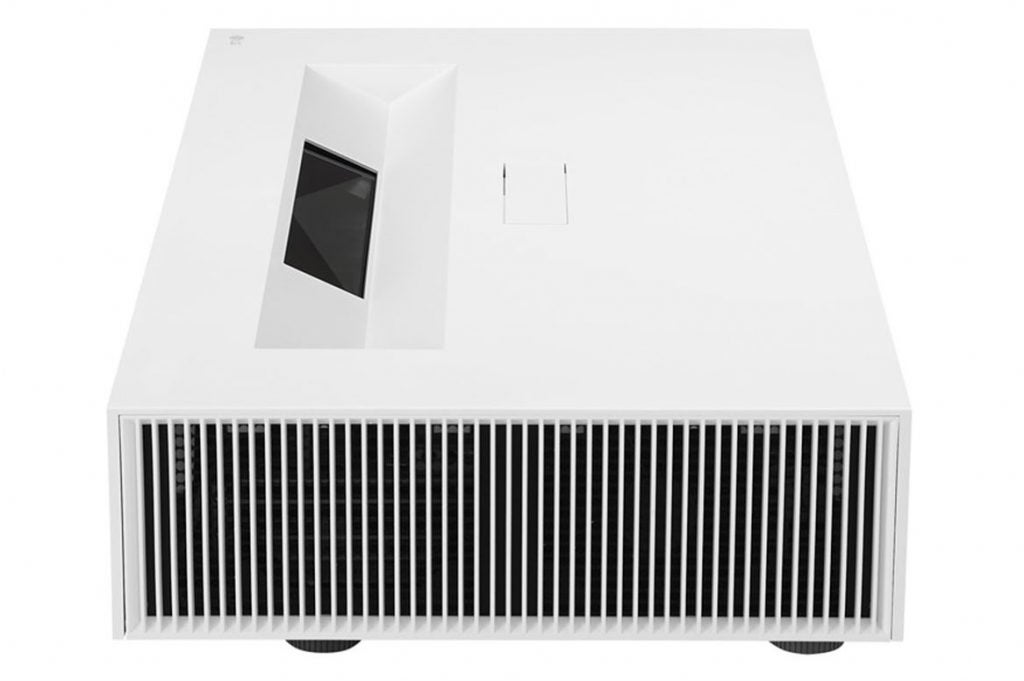 Side view of the LG HU85LS projector