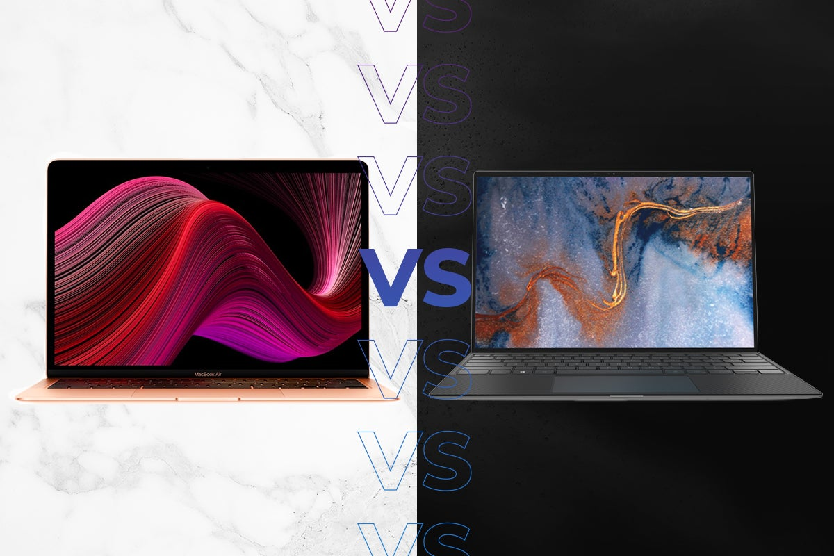 MacBook Air 2020 vs Dell XPS 13 2020 | Trusted Reviews