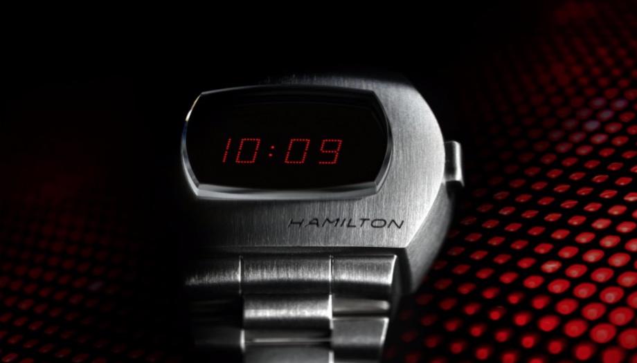 Hamilton PSR digital watch