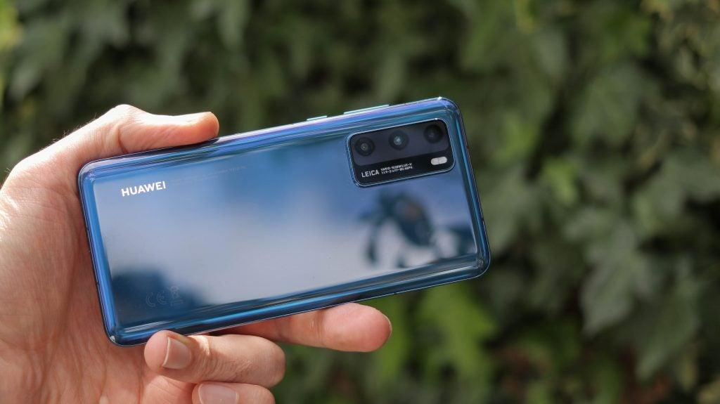 Configuración de la cámara trasera del Huawei P40