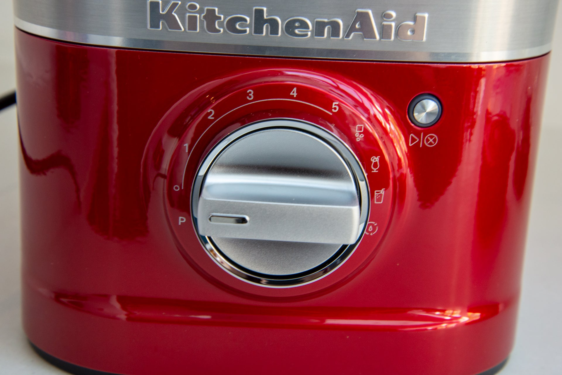 KitchenAid Artisan Blender K400 control dial