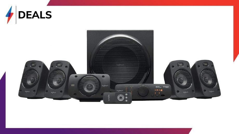Logitech Z906 5.1 Surround Sound System Deal