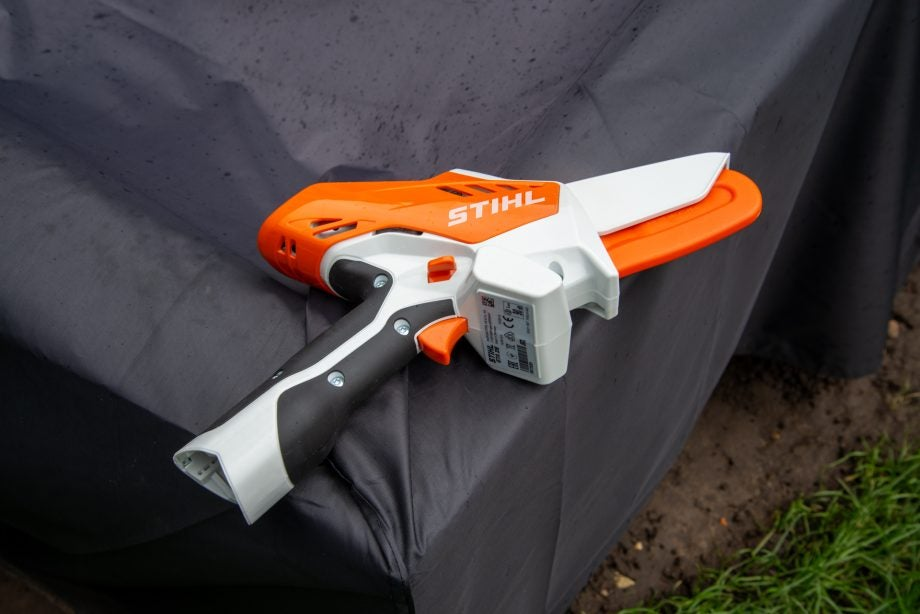 Stihl GTA 26 with scabbard