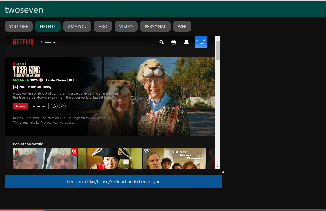 How to use TwoSeven to sync Netflix, Disney and more   Trusted Reviews